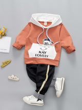 Baby Boys Girl Clothing Set For Kids Casual Letter