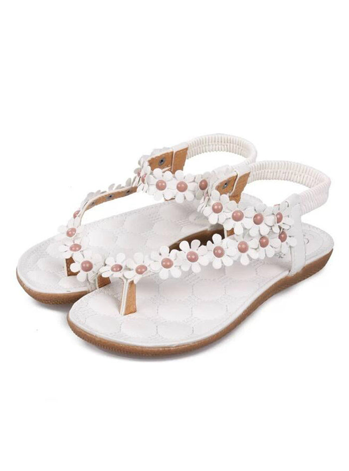 Sandals Summer Style Bling Bowtie Peep Toe