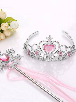 Princess Crown Hair Accessories Bridal Crown Crystal