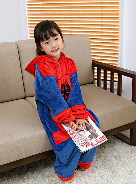 Boy Girl Pajamas Children New Spiderman Unisex