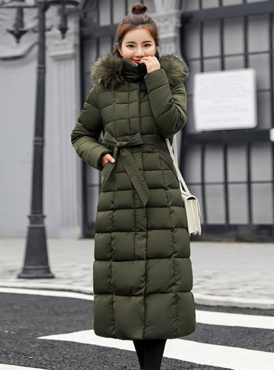 Women Winter Jacket Cotton Padded Warm Thicken