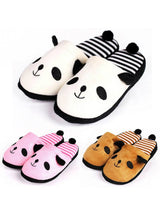 Plush Slippers Shoes Cute Panda Shoes Keep