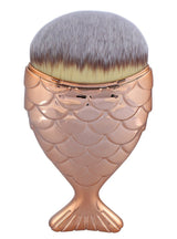 Fish Scale Makeup Brushes Set Maquiagem