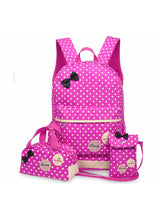 Girl School Bags For Teenagers Backpack 3Pcs/Set