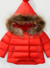 Children Warm Coat Unisex Boys Girls Clothing