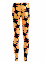Leggings Yellow Ducks Funny Women Leggings Pants