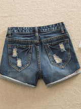 Short Jeans Plus Size Denim Shorts With Wide