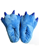 Animal Unisex Paw Slippers Winter Warm Soft Claw Slippers