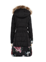 Women's Down Coat Winter Outerwear Long Parka
