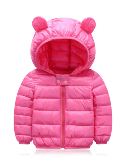 Cute Baby Girls Jacket Kids Boys Light Down Coats