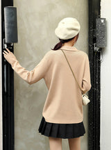 Winter Turn-collar Oversize Turtlenect Thick Sweater