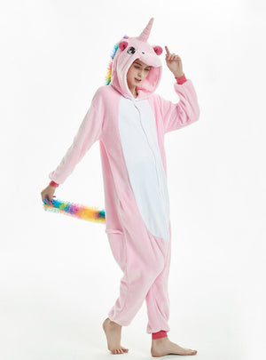 Cute Unicorn Onesie Cartoon Animal Pajama