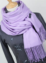 Cashmere Scarves Tassel Lady Thick Warm Scarf