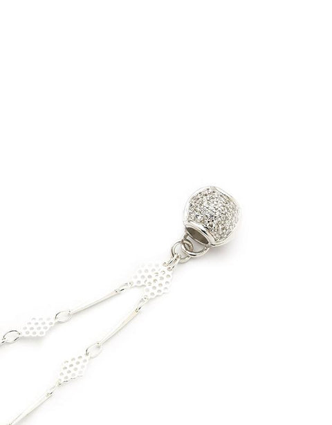 Silver Paris Diamond Shape Chain