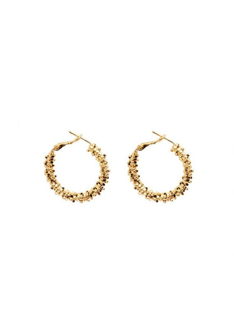 Seafaring Gold Medium Hoops