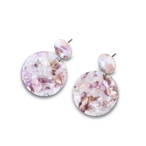 Yayoi Earrings Dusty Pink