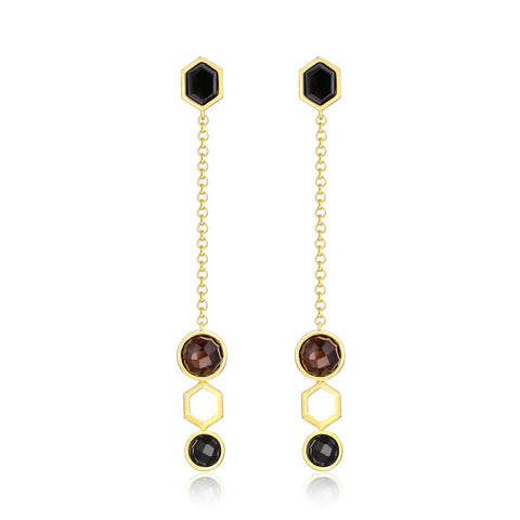 The Florence Multi-Gemstone Earrings