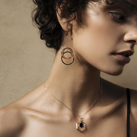 The Juliette Triple Swing Earrings