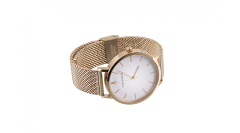Worth Rose White Rose Watch