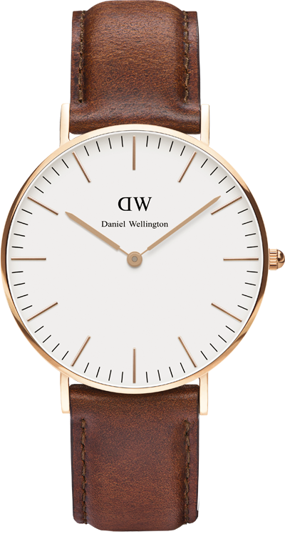Classic St Mawes Rose Gold Watch