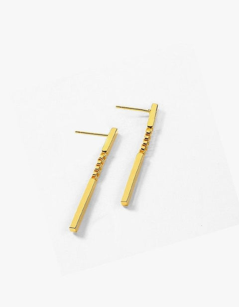 Thriller Line Earrings