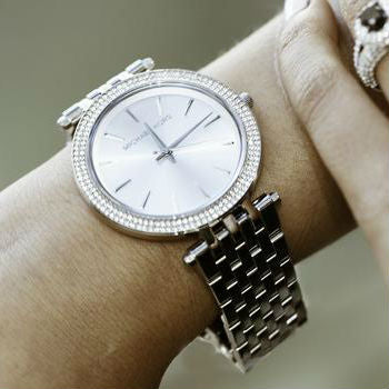 Michael Kors Darci Silver-Tone Watch