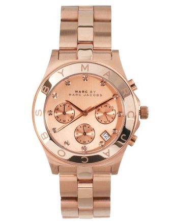 Rose Gold Blade Women's Watch