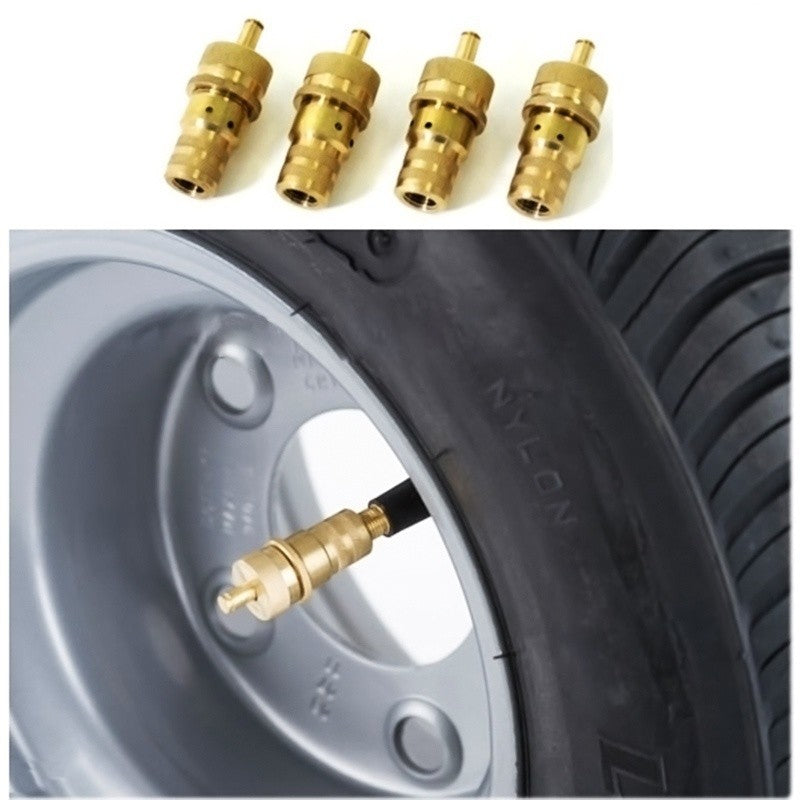 5* Fit Off Road Automatic Tire Brass Deflators Low Pressure Safe 4WD 6 30 PSI