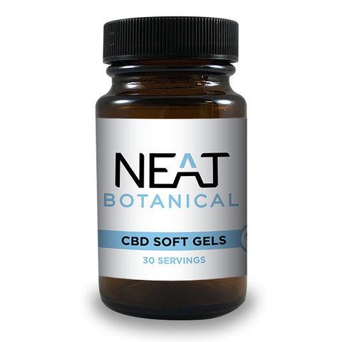 CBD SOFT GELS - 30 Count