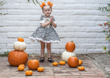 "*RESTOCKED* Pumpkin Scrappies (set of two, 3"" clip in bows)"