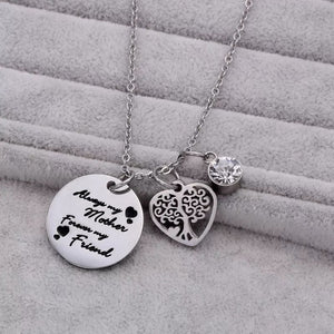 Always My Mother Necklace Stainless Steel