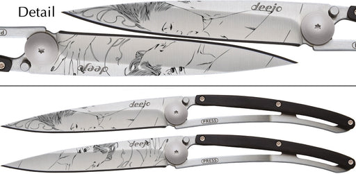 Knife Deejo The Kiss Duo Set