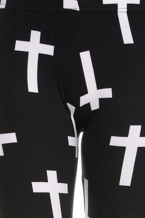 Female Cross Leggings