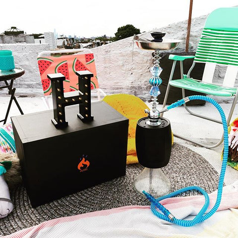 Hookahs w/ Built-in Bluetooth Speaker