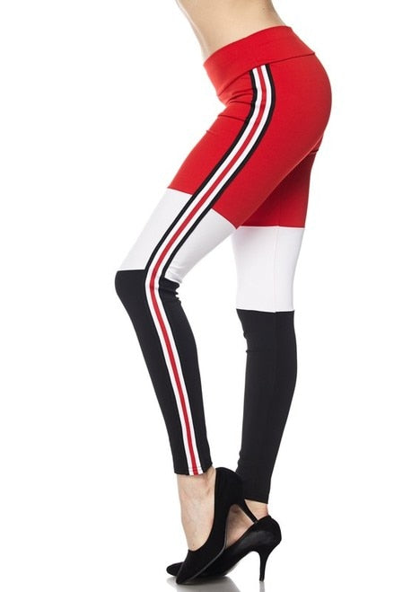 Casual Sexy Tri Sport Leggings