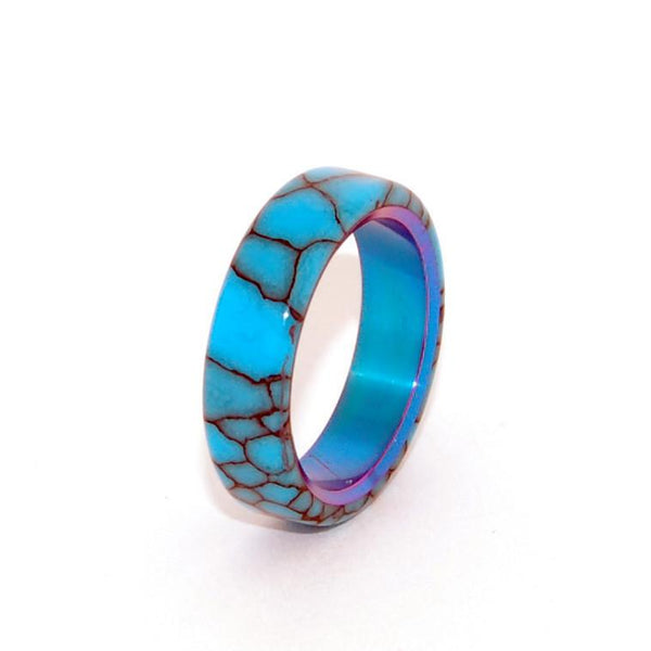 Women's Rings - All I Want is You and Turquoise