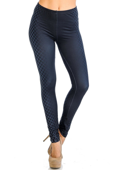 Leggings Contour Crisscross