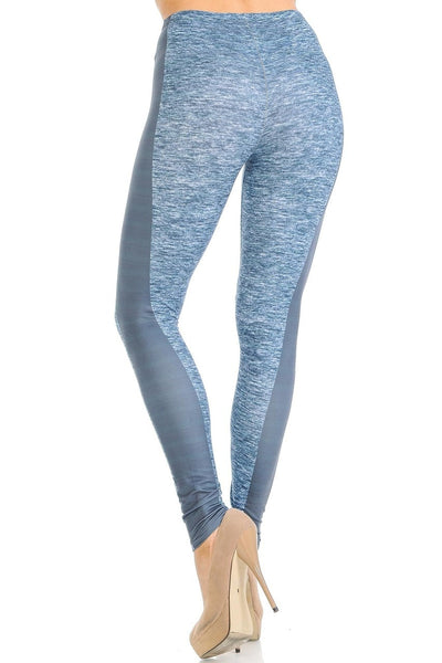 Leggings Heathered Bold Stripe