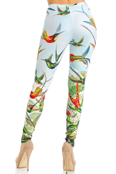 Leggings Happy Hummingbirds