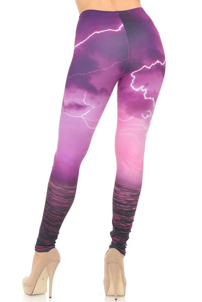 Pink Lightning Leggings
