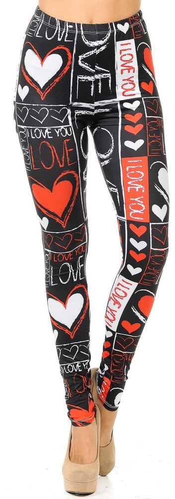 Leggings Heart and Love