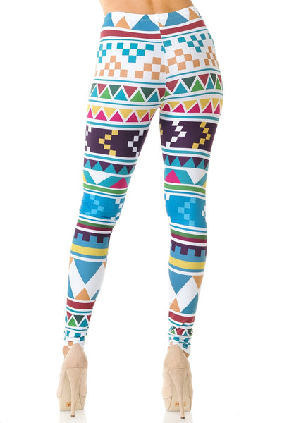Leggings Pixel Tribal