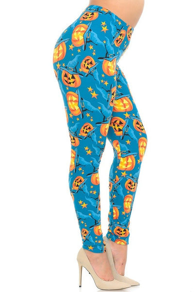 Leggings Evil Pumpkins
