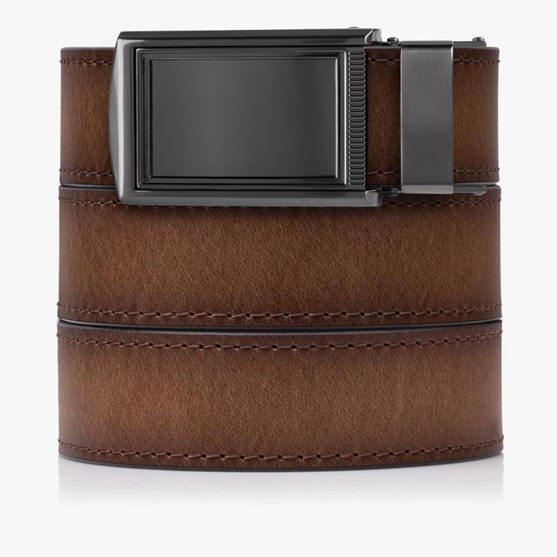 Belts for Men Adobe Full Grain Brown Smooth