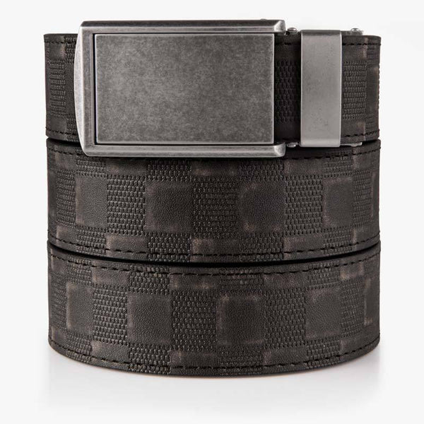Belts for Men Checkered Black