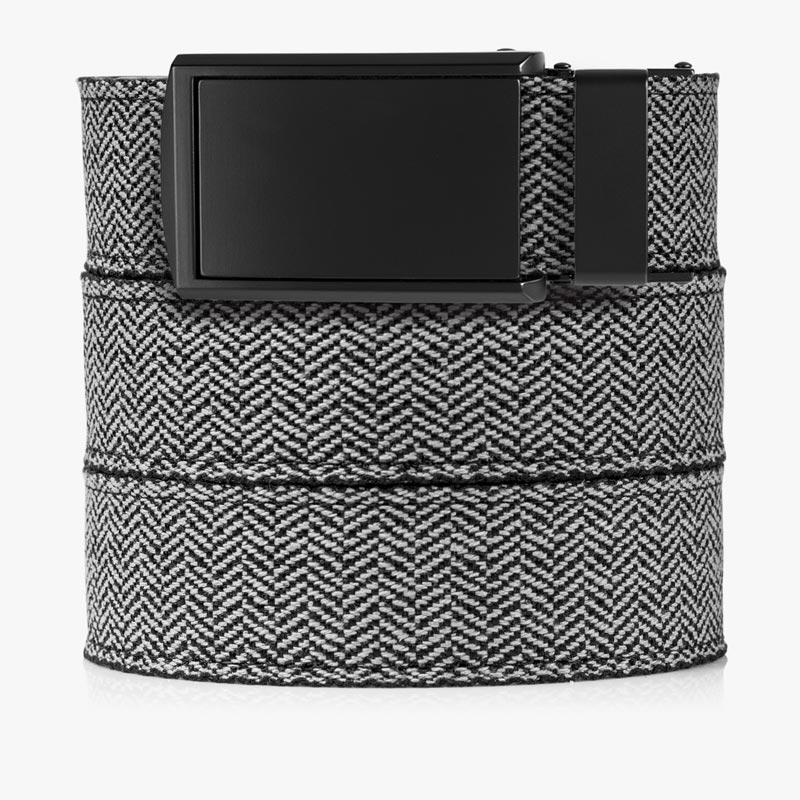 Belts for Men Herringbone Canvas