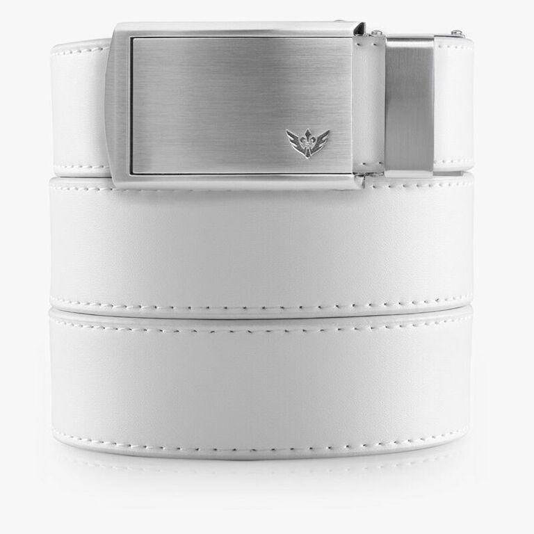 Belts for Men White Vegan