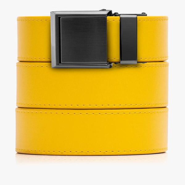 Belts for Women Yellow Classic