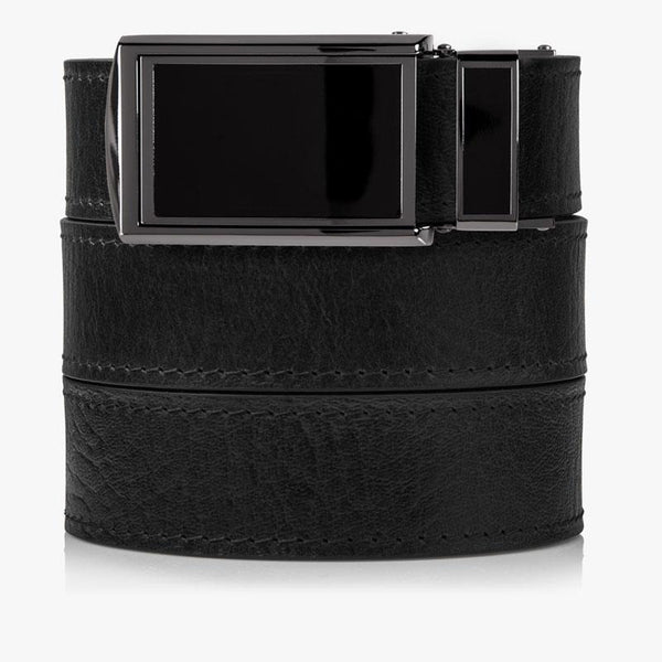 Belts for Men Top Grain Black