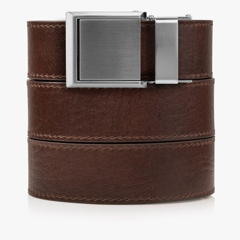 Belts for Men Top Grain Brown